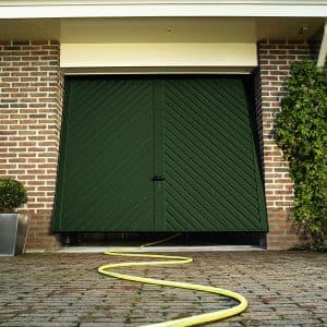 Up and over garage door