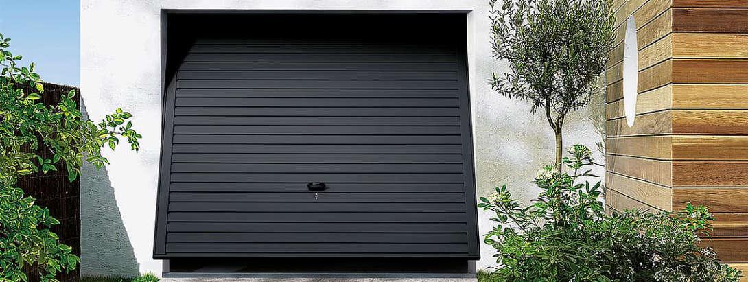 New up and over garage door installation